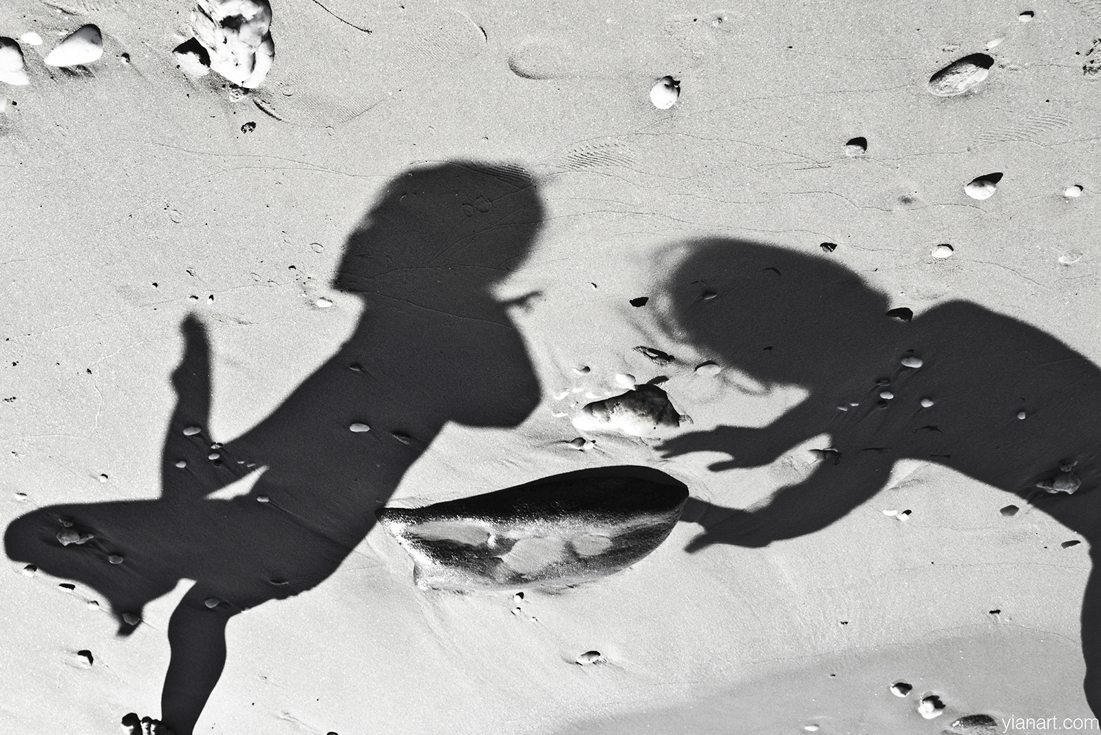Shadows Photography Project in Black & White @ Tinos Island 2011