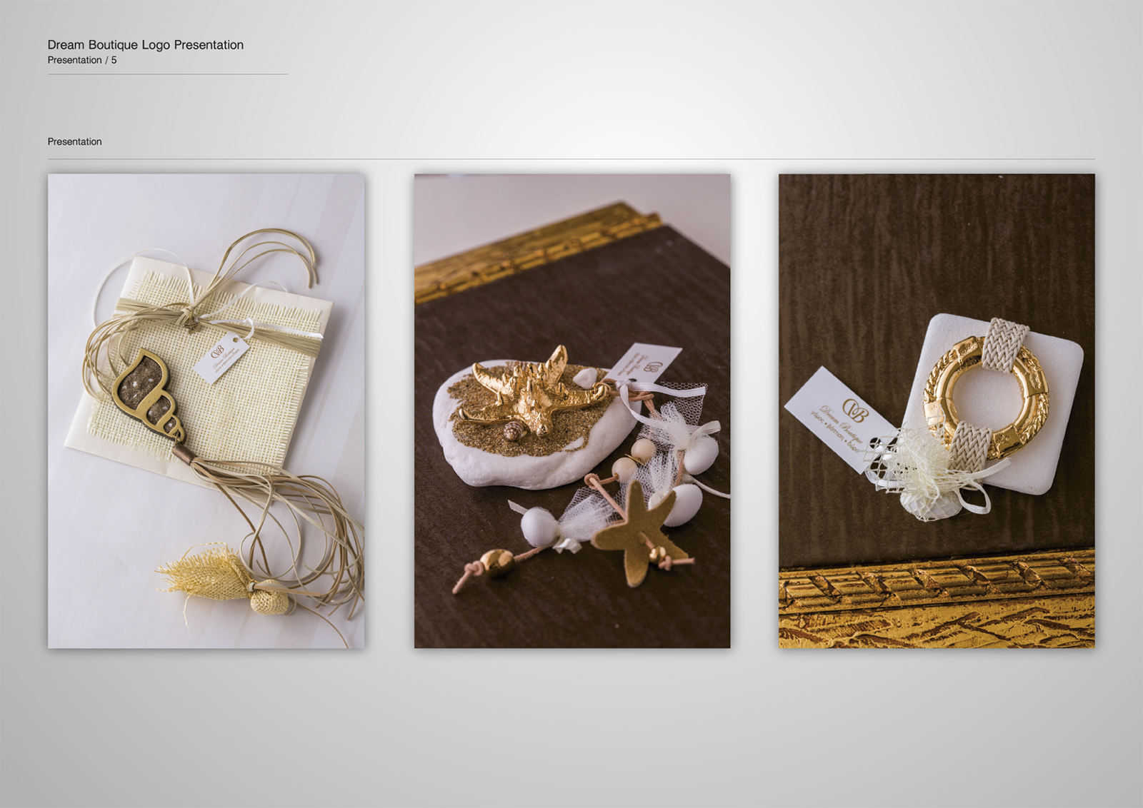 Corporate Identity Dream Boutique_Logo Presentation_5_Yianart