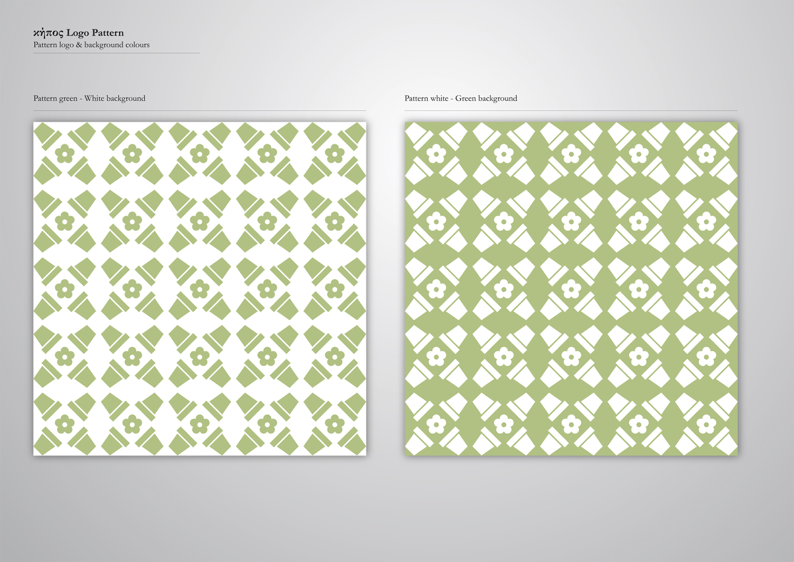 Corporate Identity Kipos Restaurant_Logo pattern_4_Yianart
