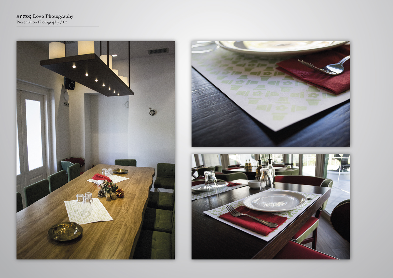 Corporate Identity Kipos Restaurant_Photography_2_Yianart