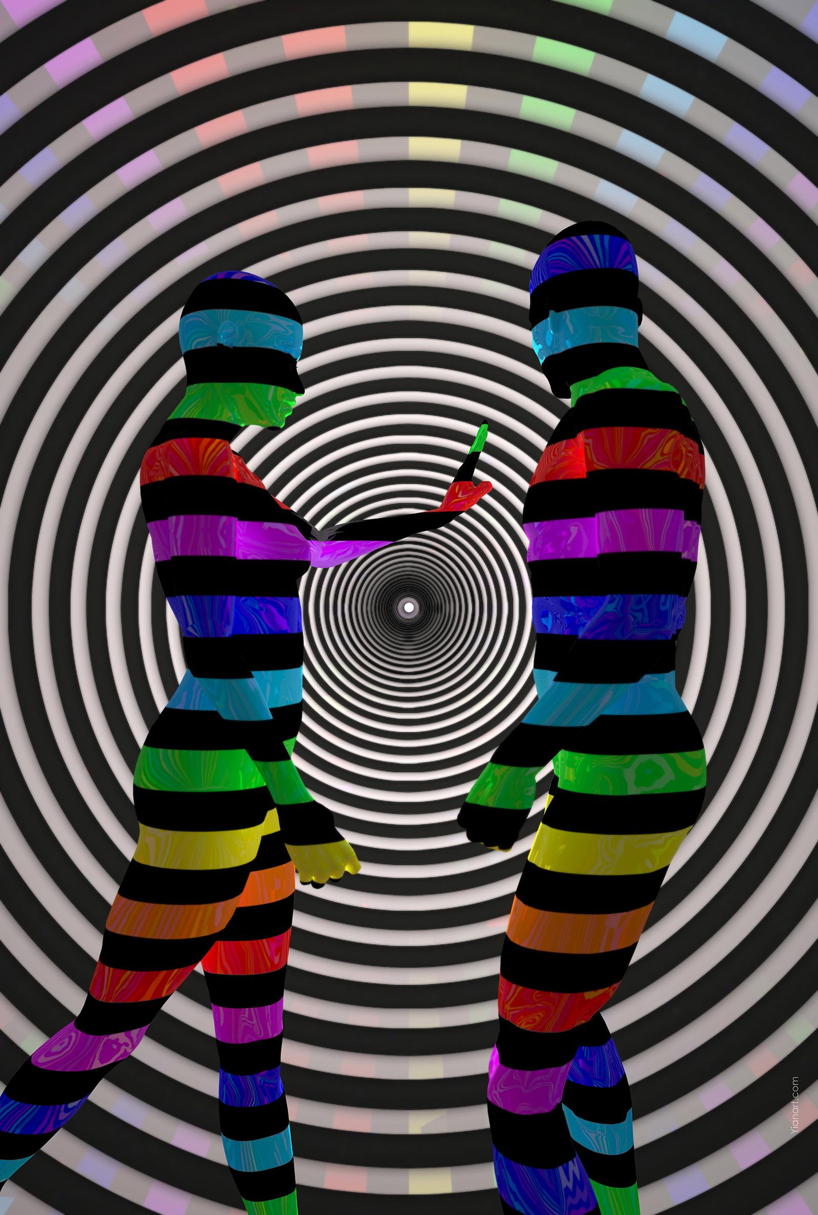 Dissension_3D Art Digital Design_Yianart