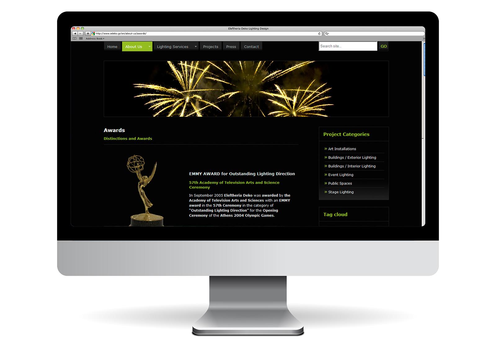 Eleftheria Deko_Awards page_Yianart