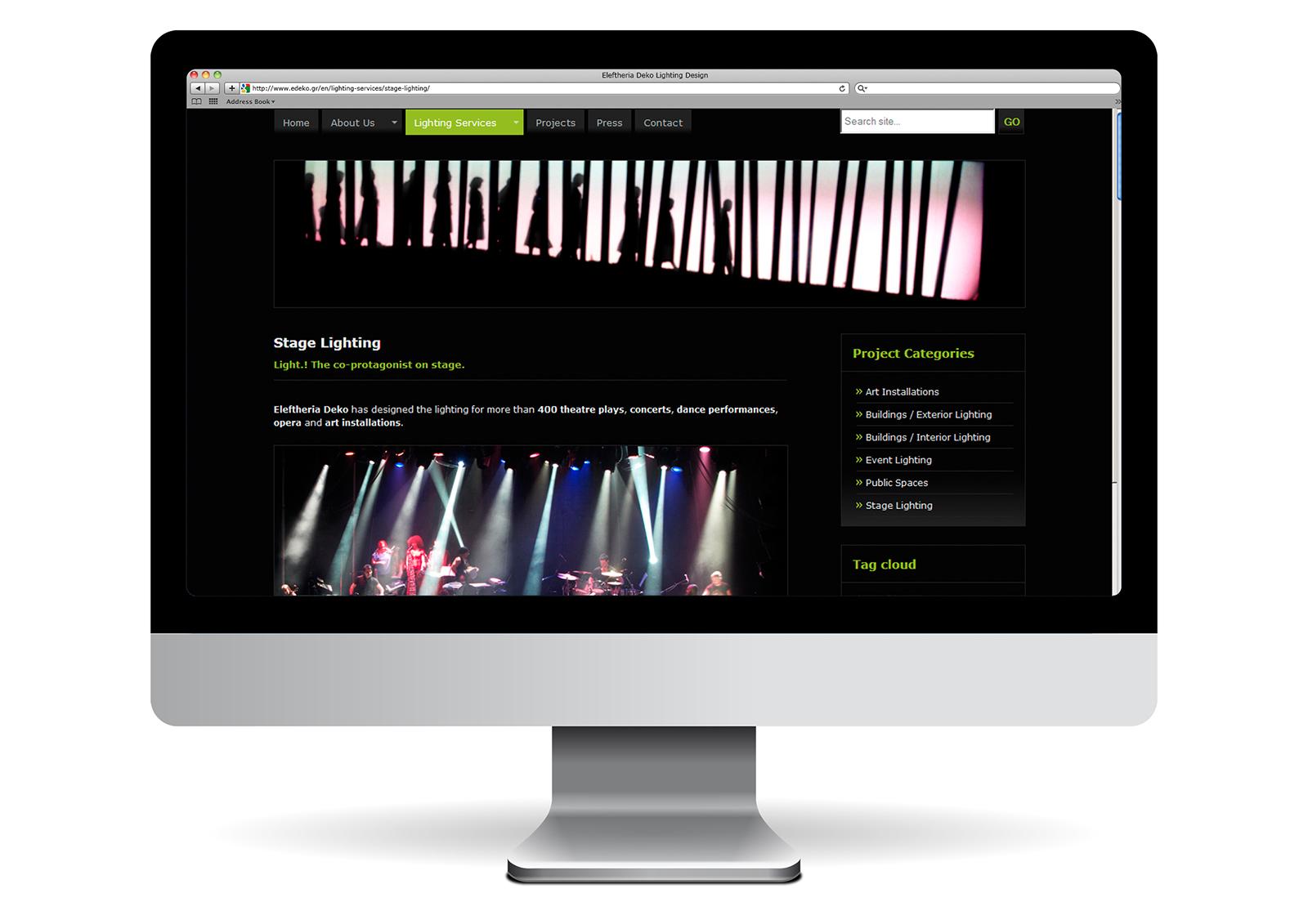 Eleftheria Deko_Stage lighting page_Yianart