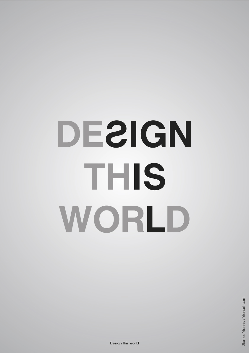 Design this world_c_Yianart.com