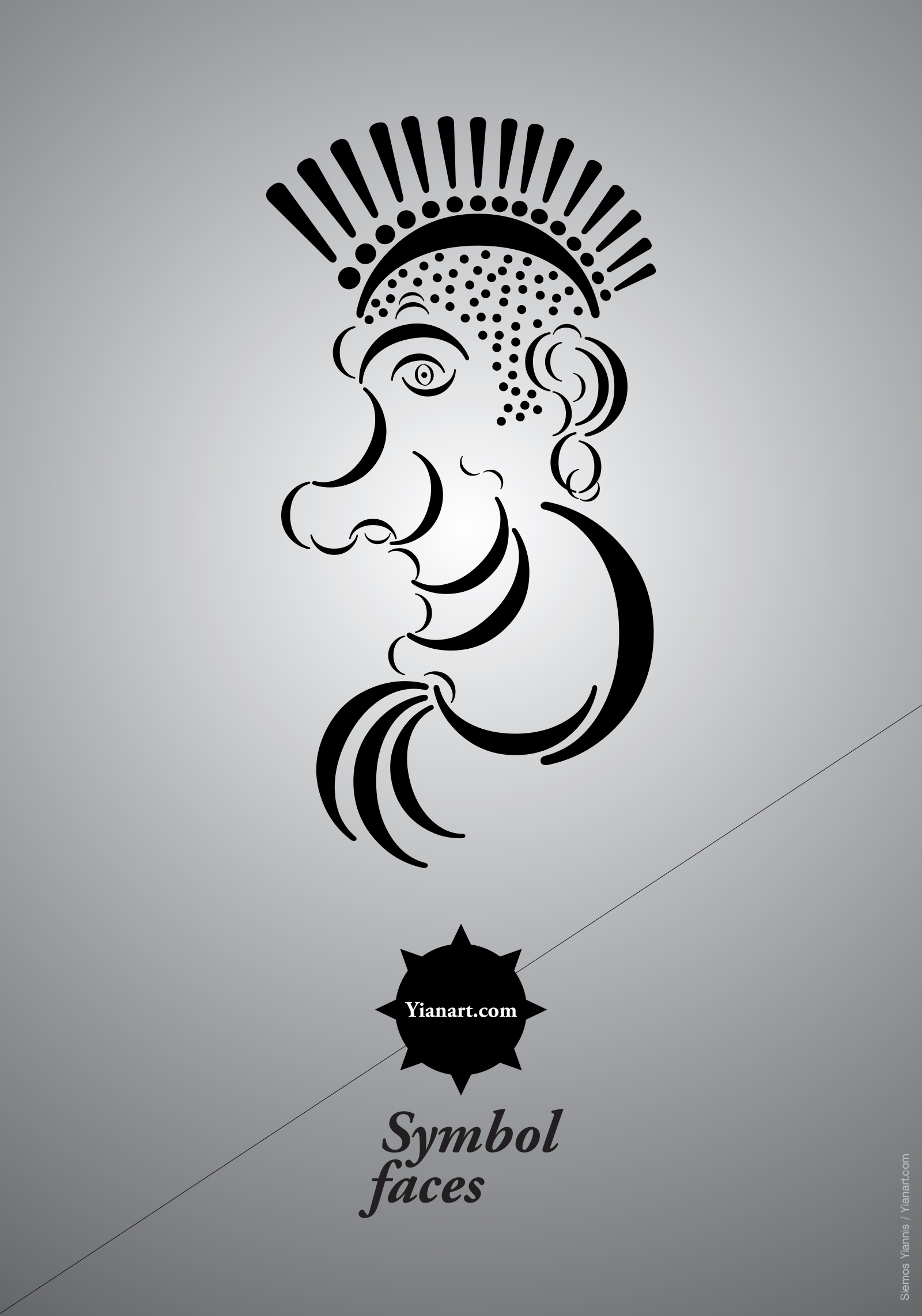 Symbol Faces_15_Yianart.com