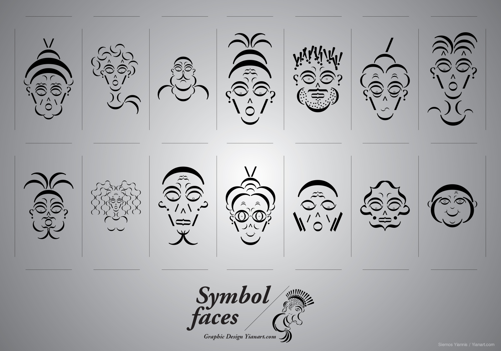 Symbol Faces_All_Yianart.com