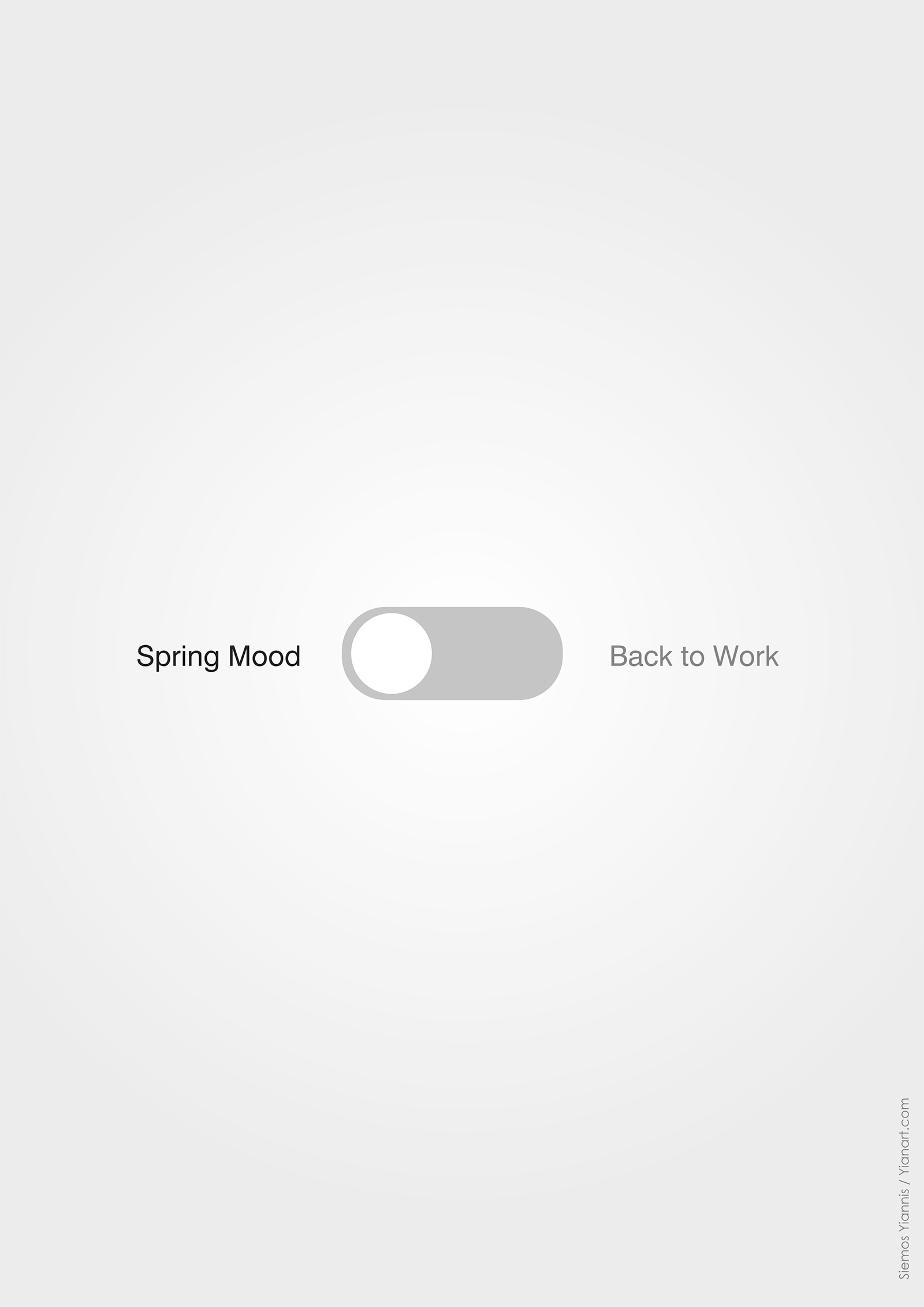 ICons_Spring Mood_Back to work_yianart.com